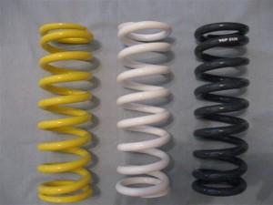 Top Gun Spring Selection Left to right, 6.6kg, 7.4kg, 8.0kg.