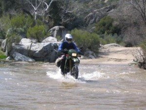 Baja still contains some fun,  challenging riding and great  scenery.