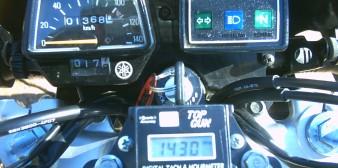 Top Gun DR650 Tachometer