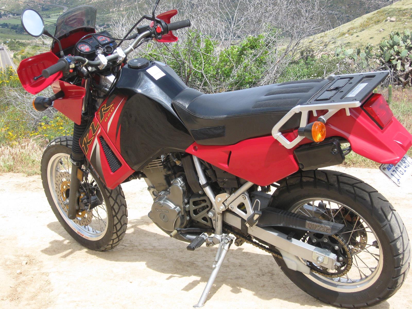 Rod's 1996 KLR650