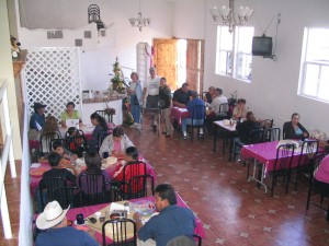 Picture of the main dining area.  There ares two other rooms as  well.