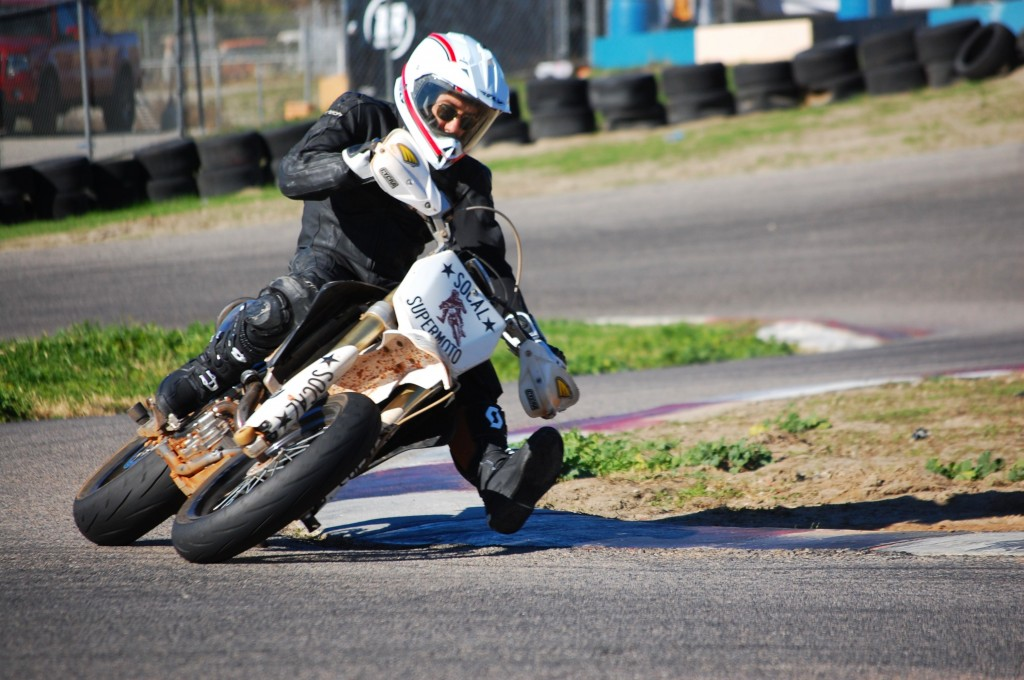 Supermoto allows students to find their limits.