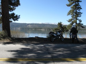 With proper set-up and care, your  carbureted MSM can take you  almost anywhere. (Big Bear Lake, CA - 6,750')